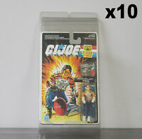 10 x Protective Cases For MOC Vintage GI Joe Taller Carded Figures