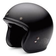 Campana de genuina Harley Davidson Retro Harley Casco de cara abierta