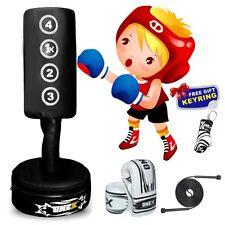 Adjustable Junior Freestanding MMA Training PunchBag Best Birthday Gift for Kids