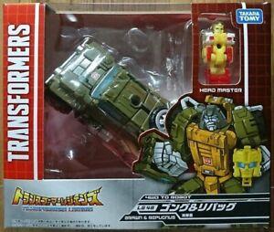Takara TOMY Transformers Legends LG 48 Brawn & Repugnus Action Figure