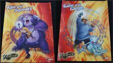 SDCC 2012 Handout Kaijudo GABE, GARGLE & ALLIE, SQUEAKY  game promo poster