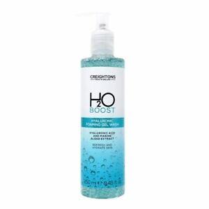 Creightons H2O Boost Hyaluronic Foaming Gel Wash 250ml