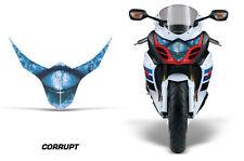 Headlight Eye Graphics Kit Decal Cover For Suzuki GSXR 1000R 2010-2013 CORRUPT U