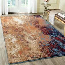 Large Floor Blue Carpets Contemporary Area Rug Living Room Top Quality Soft Rugs