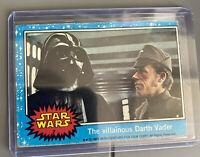 1977 Star Wars Series 1 Blue Single Card #7 Darth Vader RC