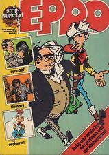 STRIPWEEKBLAD EPPO 1976 nr. 24 - LUCKY LUKE (COVER)/TRIGIE/DE GENERAAL/AGENT 327