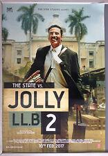 Cinema Poster: STATE VS JOLLY LL.B 2  2017 (One Sheet) Ram Gopal Bajaj