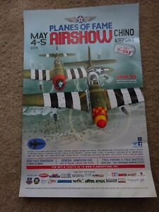 Planes of Fame 2019 Air Show Poster D-Day 75th Anniversary Show