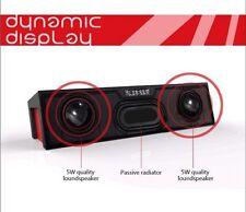 6W POWERFUL Portable Wireless Bluetooth Stereo Speaker,Support FM Alarm USB UK