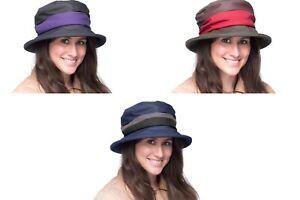 Brand New Ladies Wax Outdoor Walking Country Waterproof Rain Hiking Hat Sheila