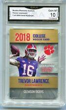 2018 Trevor Lawrence  Phenoms Rookie gem mint 10