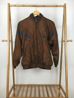 VTG Bolo Spirit Women's Full Zip Track Windbreaker Jacket Size S