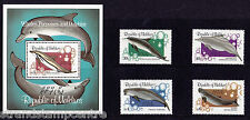 Maldive Islands - 1983 Marine Mammals - U/M - SG1004-7 + MS1008