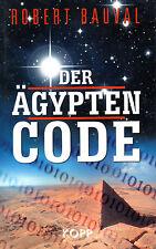 DER ÄGYPTEN CODE - Robert Bauval BUCH ( wie Erich von Däniken )