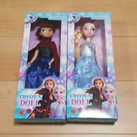 Frozen Dolls Ana and Elsa Size 33cm Set of 2 Limited from Japan Free Shipping