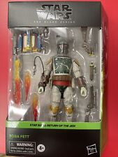 Star Wars Boba Fett The Black Series Return Of The Jedi Deluxe New In Stock??