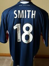 Autographed 2006 Smith New England Revolution MLS Soccer Jersey + FREE shipping