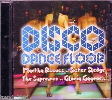 Disco Dance Floor CD Classic 70s MARTHA REEVES SUPREMES CHI-LITES DONNA SUMMER
