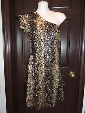 Womens Small * PIPERLIME TINLEY ROAD *  Python One Shoulder Sequin Dress NWT