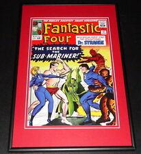 Fantastic Four #27 Framed 10x14 Cover Poster Photo Sub Mariner Dr Strange