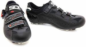 Sidi Dominator 5 Fit Mountain Bike Shoes EU 42.5 US Men 8.5 Black 2 Bolt
