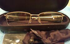 OAKLEY OX3181-0355 Eyeglass Frames Light Half Rimless 55 18 137 New