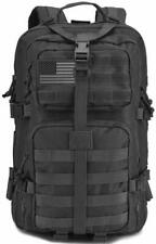 DIGBUG Military Tactical Backpack Army 3 Day Assault Pack Bag Rucksack Black 40l