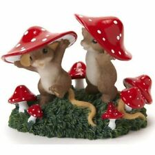 Charming Tails 'Come There 'Shroom for Everyone' Mice Figurine Gift, 4017346