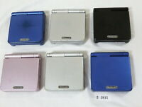 Plz Read Note! Lot 6 Nintendo GameBoy Advance SP Silver System Console GBA #2915