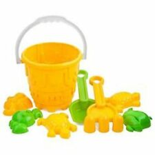 7 Pieces Kids Beach Bucket Play Set Swimming Sand Pit Holiday Travel Toy