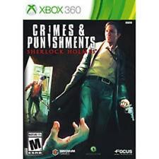 Sherlock Holmes Crimes & Punishments RE-SEALED Microsoft Xbox 360 GAME