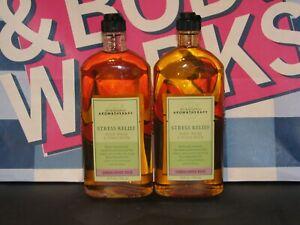 2 Bath Body Works Aromatherapy SANDALWOOD ROSE WASH & FOAM BATH Essential Oils