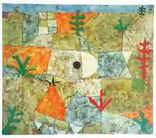 """PAUL KLEE VINTAGE 1967 AUTHENTIC LITHOGRAPH PRINT """" SOUTHERN GARDEN """" 1921"""
