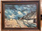 Maurice Vlaminck   Landscape  Rare 1st Limited Edition Original 1960 Lithograph