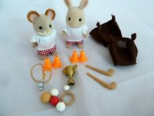 Sylvanian Families Sports Day 4416 - with original figures + lots of accessories