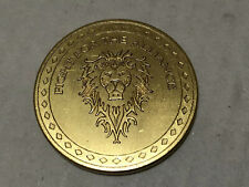 Blizzard World Of Warcraft Coin Token