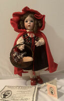 Lawton Doll ~ Little Red Riding Hood 1992 LE 272/750 ~ Complete w/ COA ~ New