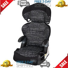 Adjustable Car Seat Toddler Safety Booster Chair For 4 Year Old Static Black