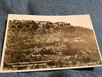 Vintage PHOTO POSTCARD LOOKOUT MOUNTAIN Chattanooga Tennessee battlefield