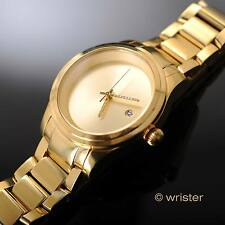 Diamond Accented Invicta Pro Diver 18k Gold IP SS 43mm Automatic Mens Watch Rare