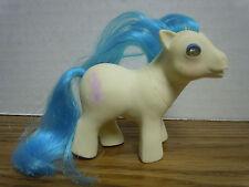 Vintage My Little Pony G1 Bed Beddy Bye Eye Eyes Baby Sleepy Pie White Blue BBE