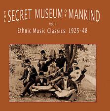 The Secret Museum Of Mankind Vol. 2 Ethnic Music Classics 1925-1948 2LP LTD NEW