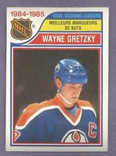 1985-86 OPC O-PEE-CHEE 1984-85 NHL League Leaders Set