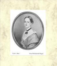 CARL VON SAAR: Frau Hofsekretär Riegel * ca. 1930 [VA-033]