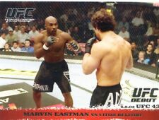 2009 TOPPS UFC ROUND 1 ROOKIE RC DEBUT MARVIN EASTMAN VS VITOR BELFORT #15