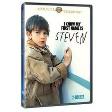 I KNOW MY FIRST NAME IS STEVEN. Region free. 2 discs. New DVD.