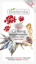 Bielenda Red Ginseng Anti-wrinkle Regenerating Moisturizing Radiance Face Mask