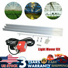 Grow Light Mover Light Track System Mover Kit 10.8ft Motor 10RPM 0-120 Second  picture