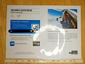 Erlebnis Gutschein Fallschirm Tandemsprung Jochen Schweizer Deutschland nur 149€