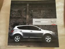 Nissan Qashqai Car Brochure - November 2006